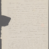 [Mann], Mary T[yler] Peabody, ALS to. Oct. 8, [1833?]