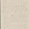 [Mann], Mary T[yler] Peabody, ALS to. Nov. 9-11, 1833.