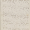[Mann], Mary T[yler] Peabody, ALS to. [1833].
