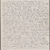[Mann], Mary T[yler] Peabody, letter to. [1833]. Copy in unknown hand.