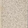 [Mann], Mary [Tyler Peabody], ALS to. Jan. 14, 1835.