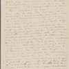 [Mann], Mary [Tyler Peabody], ALS to. [1835?].