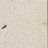 [Mann], Mary T[yler] Peabody, ALS to. Mar. [28?], [1843].