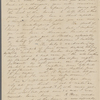 Mann, Mary [Tyler Peabody], ALS to. Dec. 8-10, 1843.