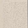 Mann, Mary [Tyler Peabody], ALS to. Feb. 6, [1844].