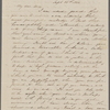 Mann, Mary [Tyler Peabody], ALS to. Sep. 16, 1844.