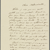 Letter from Flammarion