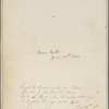 Holograph quotation from the Italian Journals. Signed, dated 30 May, 1860.
