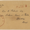 Ticknor, [William D.], ALS to. Jul. 5, 1853.