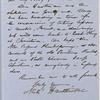 Ticknor, [William D.], ALS to. Dec. 18, 1854.