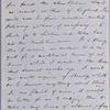 Ticknor, [William D.], ALS to. Nov. 23, 1855.