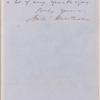 Ticknor, [William D.], ALS to. Dec. 7, 1855.