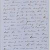 Ticknor, [William D.], ALS to. Mar. 15, 1856.