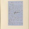 Ticknor, [William D.], ALS to. Apr. 24, 1856.