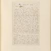 Ticknor, [William D.], ALS to. Apr. 14, 1858.