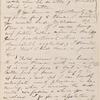 Ticknor, [William D.], ALS to. Feb. 10, 1860.