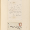 Ticknor, [William D.], ALS to. [Jul. 5, 1860].