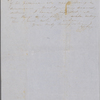 Mann, Mary [Tyler Peabody], ALS to. Jan. 14, 1848.