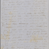 Mann, Mary [Tyler Peabody], ALS to. Apr. 25-30, 1848.