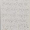 Mann, Mary [Tyler Peabody], ALS to. Mar. 18, 1849.