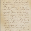 Mann, Mary [Tyler Peabody], ALS to. Aug. 12, 1849.