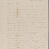 Mann, Mary [Tyler Peabody], ALS to. Oct. 21, 1849.