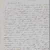 Mann, Mary [Tyler Peabody], ALS to. Nov. 22, 1850.