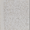 Mann, Mary [Tyler Peabody], ALS to. Sep. 23, 1851.