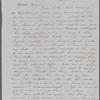 [Mann], Mary [Tyler Peabody], ALS to. Oct. 9, [1851].