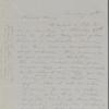 Mann, Mary [Tyler Peabody], AL to. [Nov.] 11, [1851].