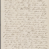 [Mann], Mary [Tyler Peabody], ALS to. Apr. 20-22, 1855.