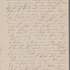 [Mann], Mary [Tyler Peabody], ALS to. Aug. 24, [1859].