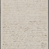 [Mann], Mary [Tyler Peabody], ALS to. [Mar.? 1860?]. [Previously: Mar.? 1859?]