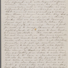 [Mann], Mary [Tyler Peabody], ALS to. [before Apr. 8, 1860].