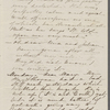 [Mann], Mary [Tyler Peabody], ALS to. [late April? 1864].