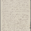 [Mann], [Mary Tyler Peabody], AL (incomplete) to. [1865?].