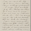 [Mann], Mary [Tyler Peabody], ALS to. Mar. 20, 1866