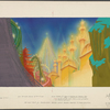 Set design for the stage production By the Beautiful Sea (illuminated face of midway)