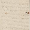 Peabody, Elizabeth [Palmer], mother, ALS to. Sep. 2, 1830.