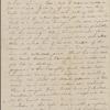 Peabody, Elizabeth [Palmer], mother, ALS to. [Sep.] 6, [1830].