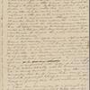 Peabody, Elizabeth [Palmer], mother, ALS to. Oct. 10, 1830.