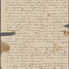 Peabody, Elizabeth [Palmer], mother, ALS to. Oct. 14, 1830.
