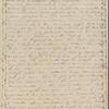 Peabody, Elizabeth [Palmer], mother, ALS to. Oct. 31, 1830.