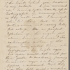 Peabody, Elizabeth [Palmer], mother, ALS to. [Jun.] 28, [1831].