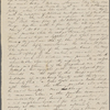 Peabody, Elizabeth [Palmer], mother, ALS to. May 19, [1832].