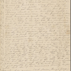 Peabody, Elizabeth [Palmer], mother, ALS to. May 23, [1832].