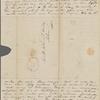 Peabody, Elizabeth [Palmer], mother, ALS to. Aug. 22, 1832.