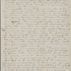 Peabody, Elizabeth [Palmer], mother,  ALS to. Aug. 26-31, 1832.