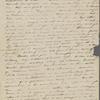 Peabody, Elizabeth [Palmer], mother, ALS (incomplete) to. [--] 6-8, [Dec. 1833-Spring, 1835].