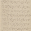 Peabody, Elizabeth [Palmer], mother, ALS to. Aug. [5], 1842.